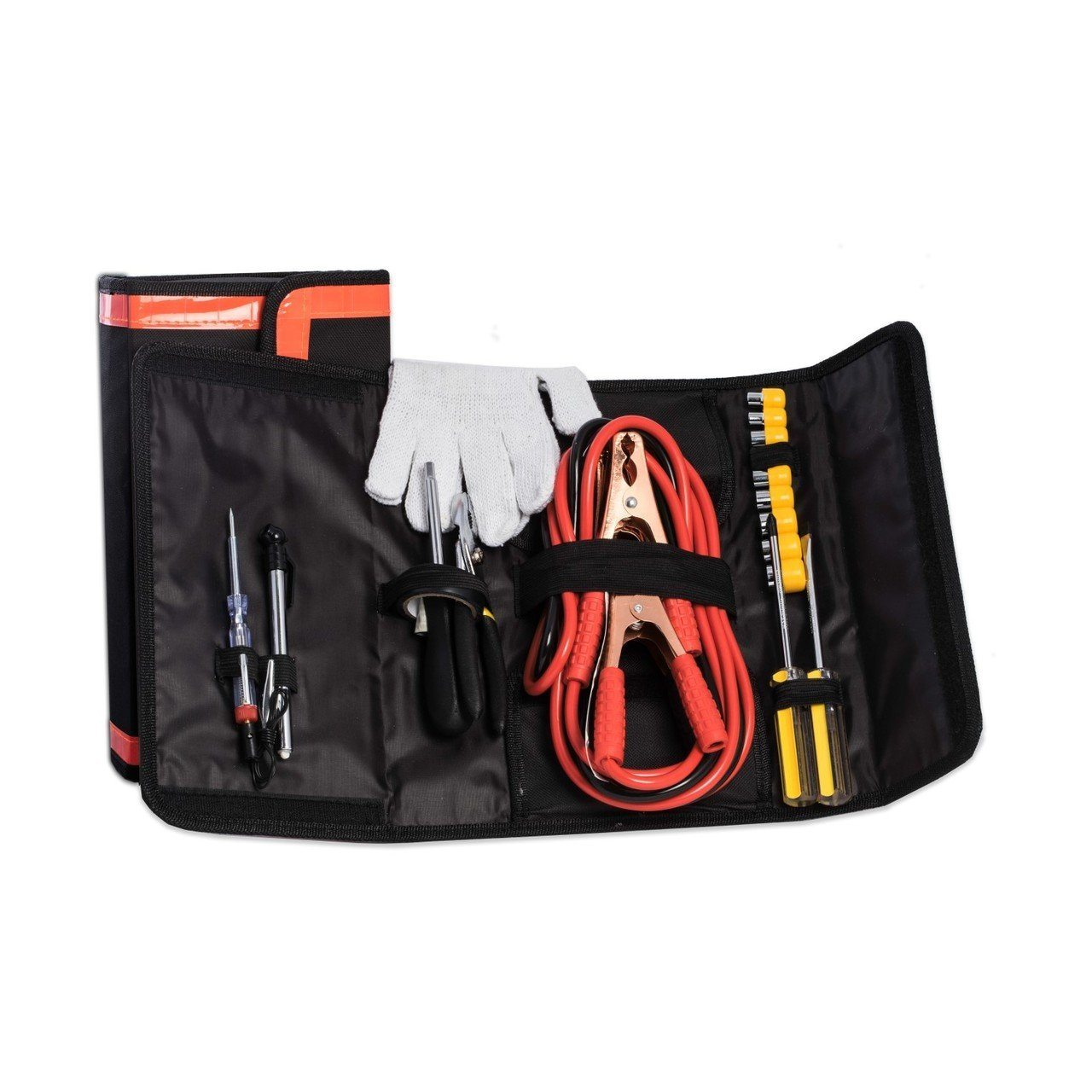 Car 11 Piece Emergency Tool Kit-Tool Kit-Bey-Berk-Top Notch Gift Shop
