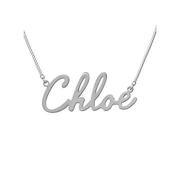 Script Name Necklace - Personalized