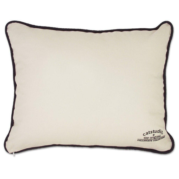 Brigham Young University Catstudio Embroidered Pillow-Pillow-CatStudio-Top Notch Gift Shop