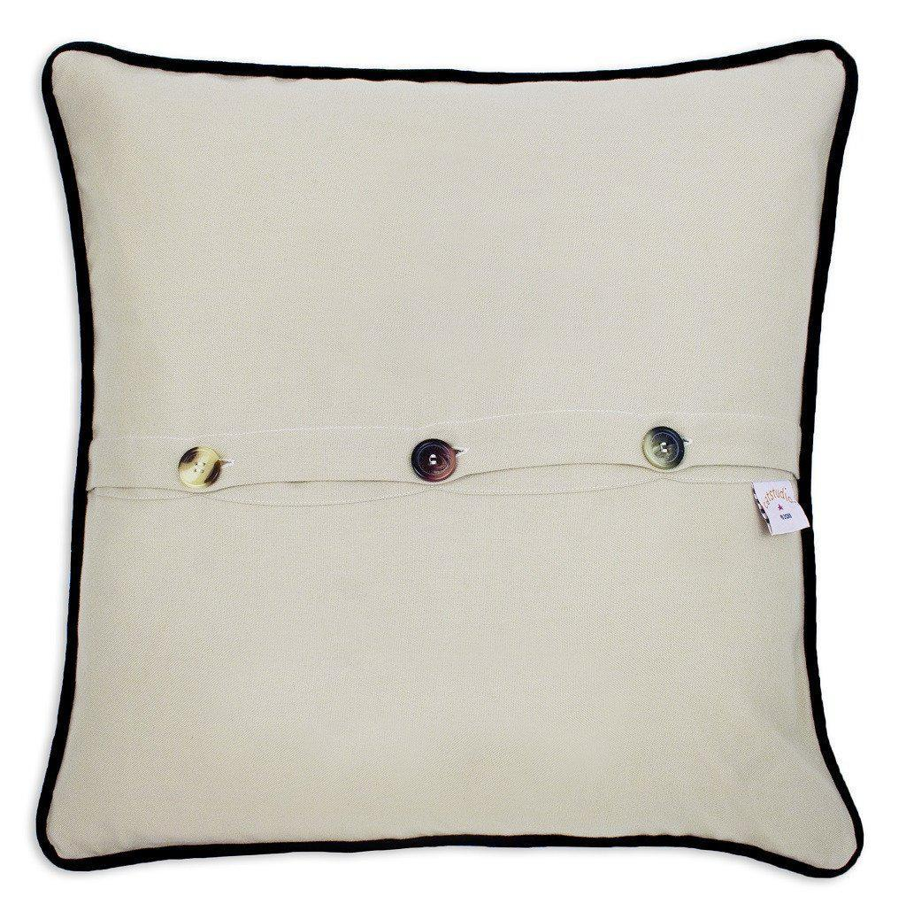 North Carolina Embroidered Catstudio State Pillow-Pillow-CatStudio-Top Notch Gift Shop