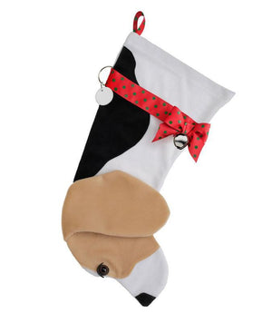 Beagle Christmas Stocking-Holiday Stocking-Hearth Hounds-Top Notch Gift Shop