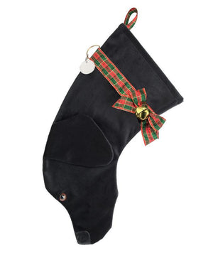 Black Lab Christmas Stocking-Holiday Stocking-Hearth Hounds-Top Notch Gift Shop