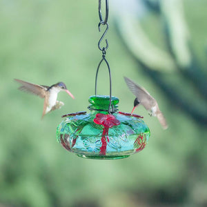 Green Bloom Calliope Hummingbird Feeder-Bird Feeder-Parasol Gardens-Top Notch Gift Shop