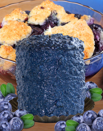 Blueberry Cobbler Scented Hearth Candle