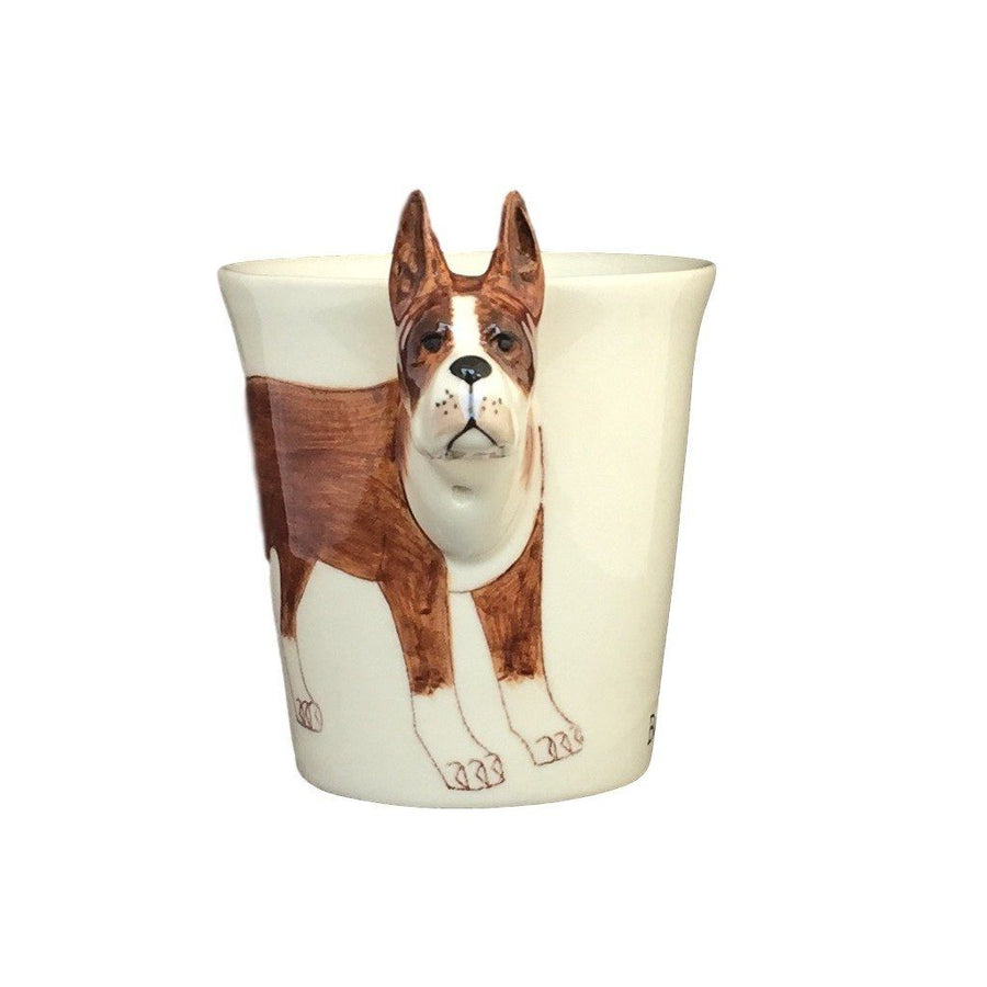 Boxer Hand Painted Coffee Mug-Mug-Sea Island-Top Notch Gift Shop