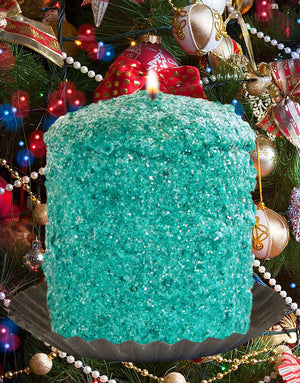 Christmas Tinsel Scented Hearth Candle-Candle-Warm Glow Candle Company-Top Notch Gift Shop