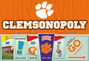 Clemson-opoly - Clemson University Monopoly Game