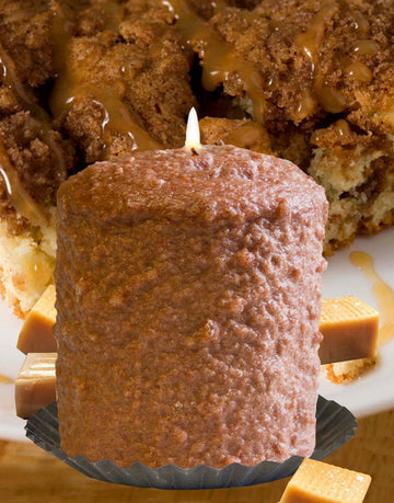 Caramel Coffee Cake Scented Hearth Candle