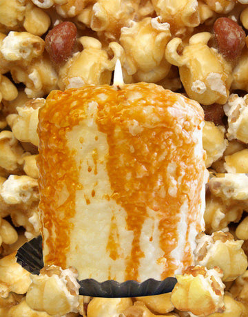 Caramel Corn Scented Hearth Candle