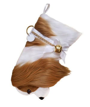 Cavalier King Charles Spaniel Christmas Stocking-Holiday Stocking-Hearth Hounds-Top Notch Gift Shop