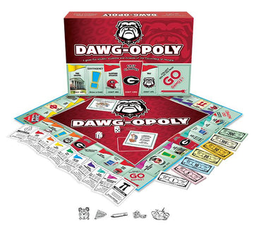 Dawg-opoly - University of Georgia Monopoly Board Game