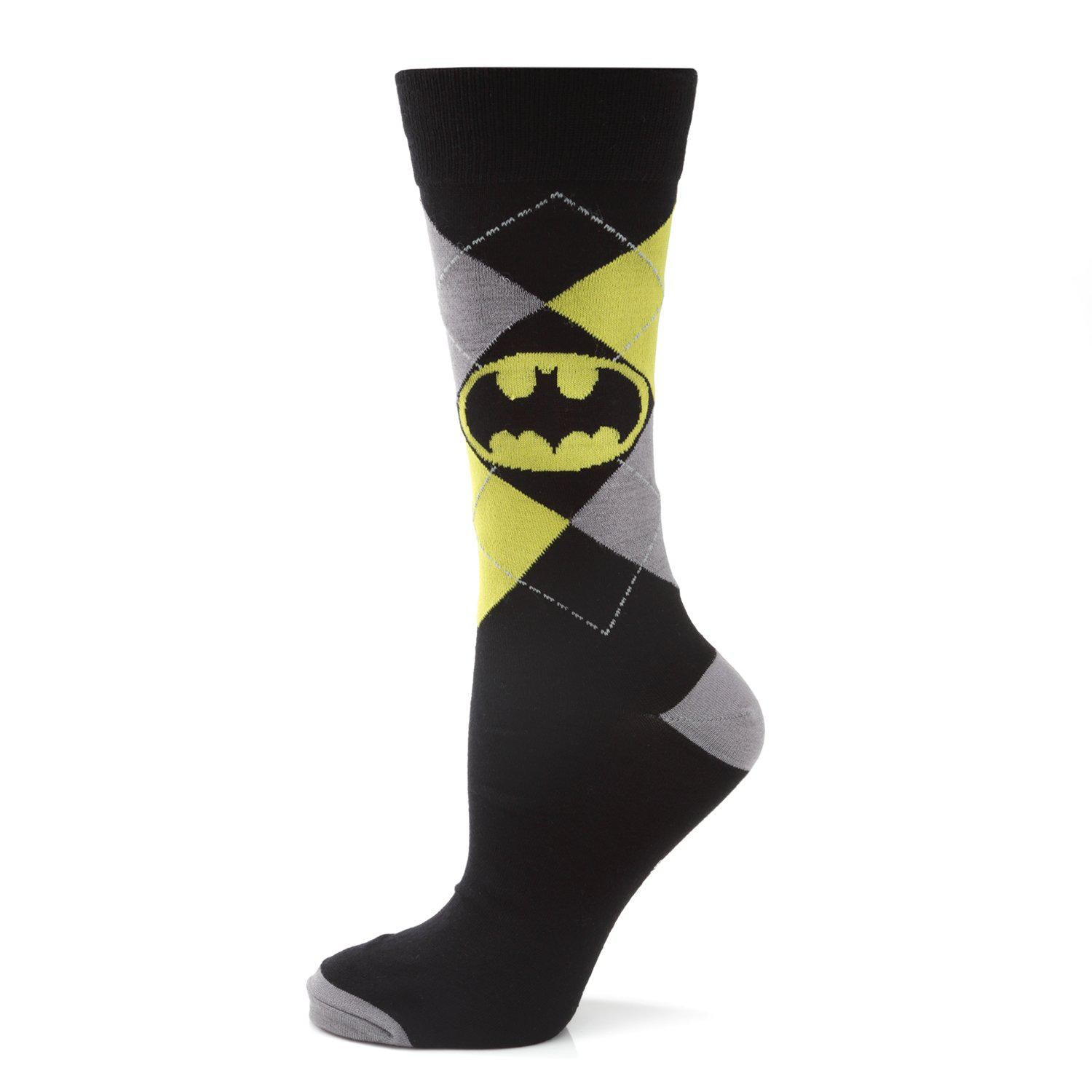 Batman Argyle Classic Sock-Socks-Cufflinks, Inc.-Top Notch Gift Shop