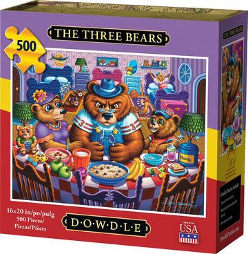 The Three Bears 500 Piece Puzzle