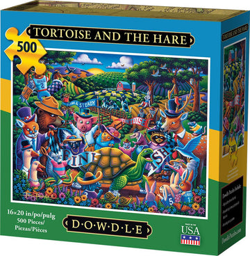 Tortoise And The Hare 500 Piece Puzzle