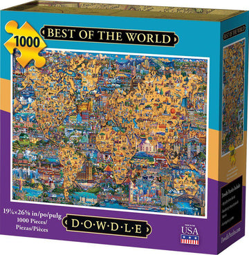 Best Of The World 1000 Piece Puzzle