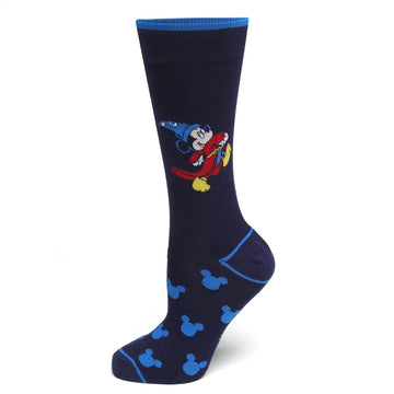 Fantasia Mickey Mouse Navy Socks