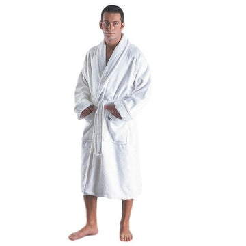 Men's Deluxe Turkish Terrycloth Bathrobe