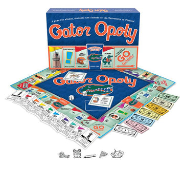 Gator-opoly - University of Florida Monopoly Board  Game