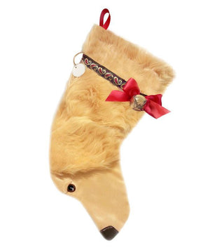 Golden Retriever Christmas Stocking-Holiday Stocking-Hearth Hounds-Top Notch Gift Shop
