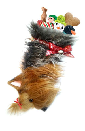 Yorkshire Terrier Christmas Stocking-Holiday Stocking-Hearth Hounds-Top Notch Gift Shop