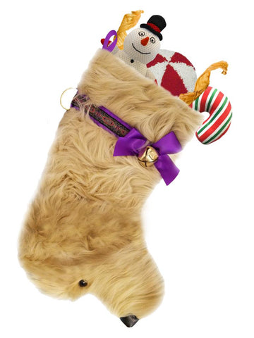 Golden Doodle Christmas Stocking