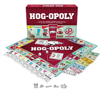 Hog-opoly - University of Arkansas Monopoly Game