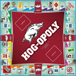 Hog-opoly - University of Arkansas Monopoly Game-Game-Late For The Sky-Top Notch Gift Shop