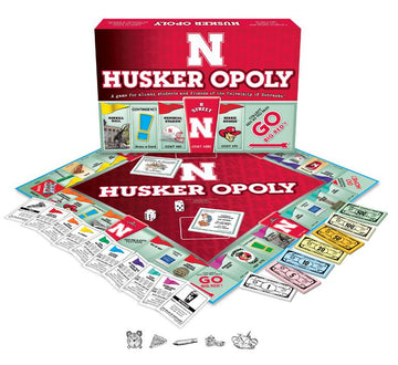 Husker-opoly - University of Nebraska Monopoly Game