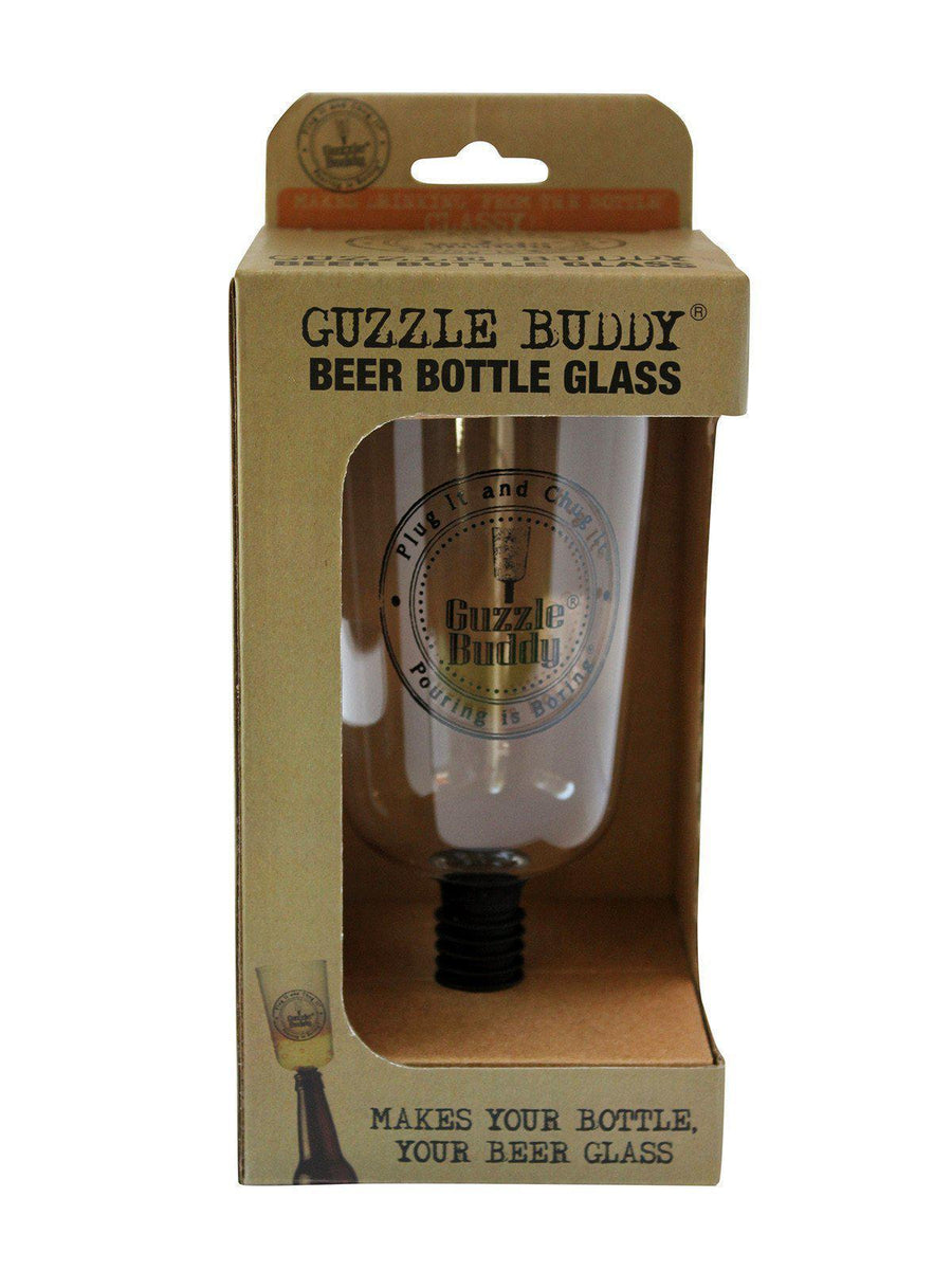 Guzzle Buddy® Beer Bottle Glass-Pub Glass-Guzzle Buddy-Top Notch Gift Shop