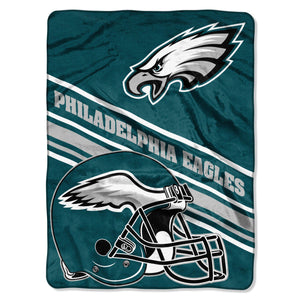 Philadelphia Eagles Slant Fleece Blanket-Blanket-Northwest-Top Notch Gift Shop
