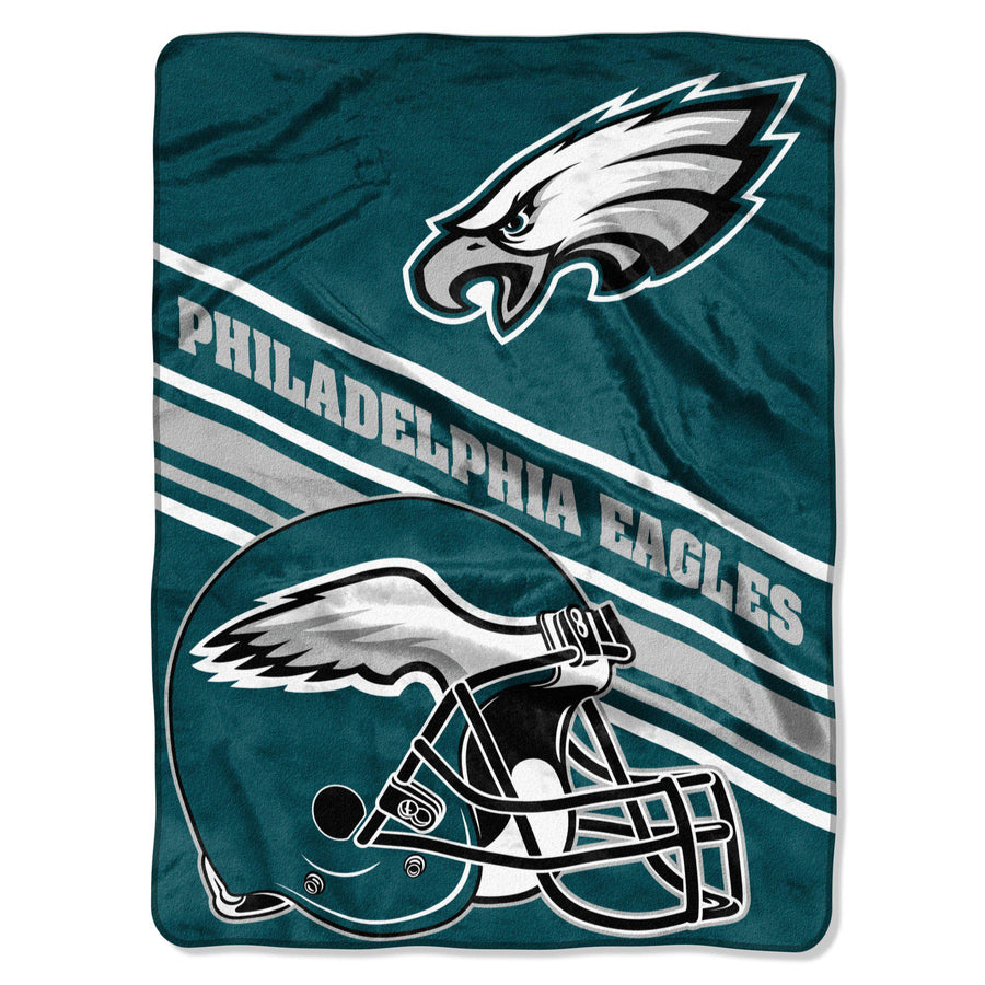 Philadelphia Eagles Fleece Blanket - Slant-Blanket-Northwest-Top Notch Gift Shop