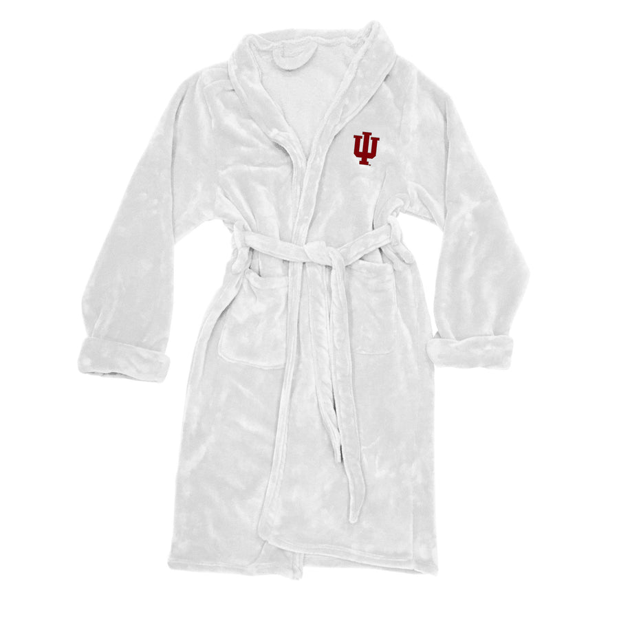 Indiana Hoosiers Men's Silk Touch Plush Bath Robe-Bathrobe-Northwest-Top Notch Gift Shop