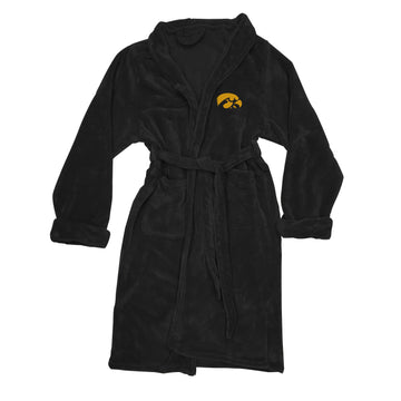 Iowa Hawkeyes Men's Silk Touch Plush Bath Robe