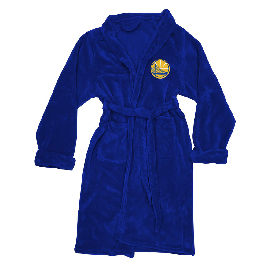 Golden State Warriors Men's SIlk Touch Plush Bathrobe-Bathrobe-Northwest-Top Notch Gift Shop