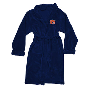 Auburn Tigers Men's Silk Touch Plush Bath Robe-Bathrobe-Northwest-Top Notch Gift Shop