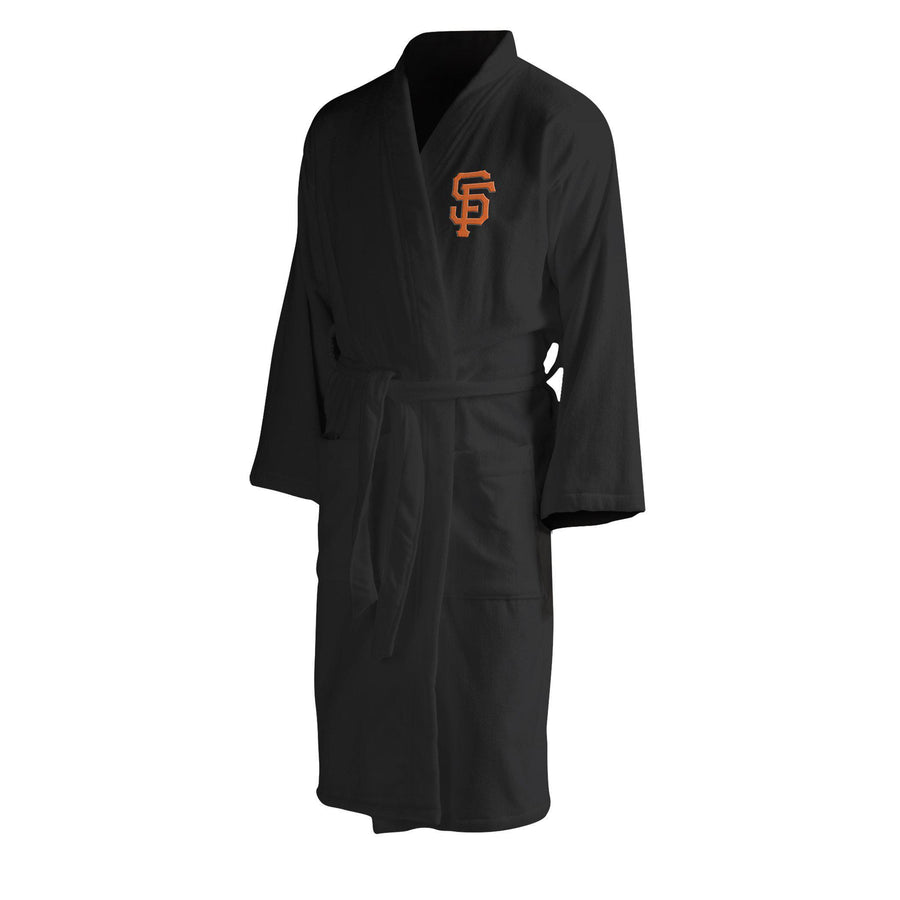 San Francisco Giants Men's Silk Touch Plush Bath Robe-Bathrobe-Northwest-Top Notch Gift Shop