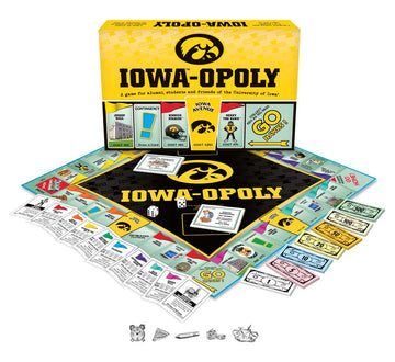 Iowa-opoly - University of Iowa Monopoly Game