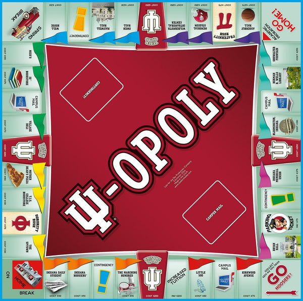 I.U.-opoly - Indiana University Monopoly Games-Game-Late For The Sky-Top Notch Gift Shop