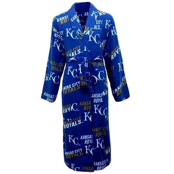 Kansas City Royals Wildcard Microfleece in Royal-Bathrobe-Concepts Sport-Top Notch Gift Shop