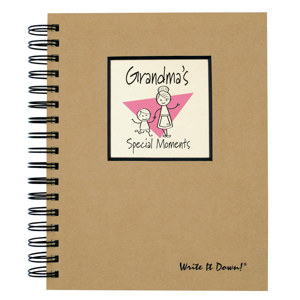 Grandma's Special Moments Journal-Journal-Journals Unlimited-Top Notch Gift Shop