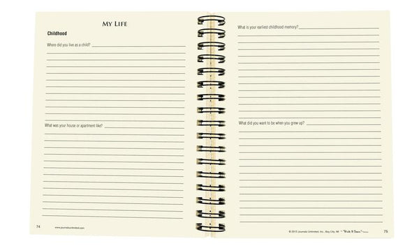 When I'm Gone - My Info, Wishes, & Thoughts Journal-Journal-Journals Unlimited-Top Notch Gift Shop