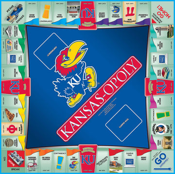 Kansas-opoly - University of Kansas Monopoly Game