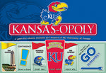Kansas-opoly - University of Kansas Monopoly Game-Game-Late For The Sky-Top Notch Gift Shop