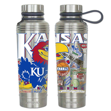 Kansas Jayhawks Thermal Water Bottle
