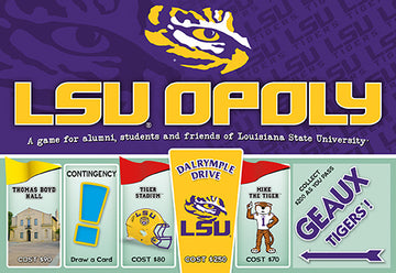 LSU-opoly - Louisiana State Universoty Monopoly Game