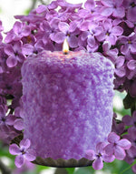 Lilac Blossom Scented Hearth Candle by Warm Glow Candle Company-Candle-Warm Glow Candle Company-Top Notch Gift Shop