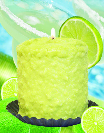 Lime Margarita Scented Hearth Candle