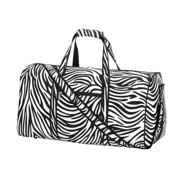 Zebra Duffel Bag - Personalized