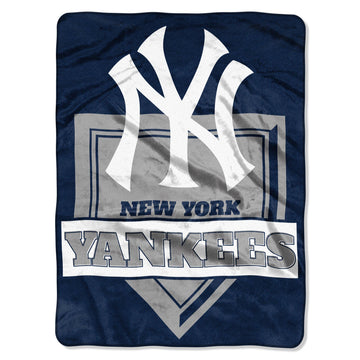 New York Yankees Fleece Blanket - Home Plate