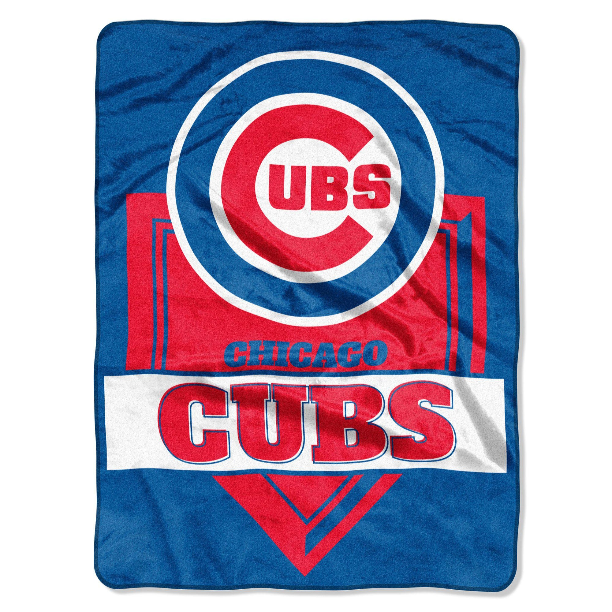 Chicago Cubs Fleece Blanket - Home Plate-Blanket-Northwest-Top Notch Gift Shop